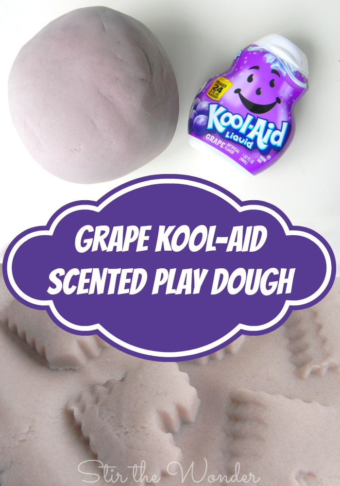 Grape Kool-Aid Scented Play Dough
