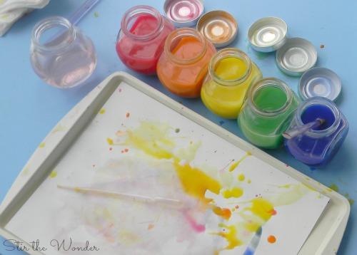 DIY Liquid Watercolor Paints