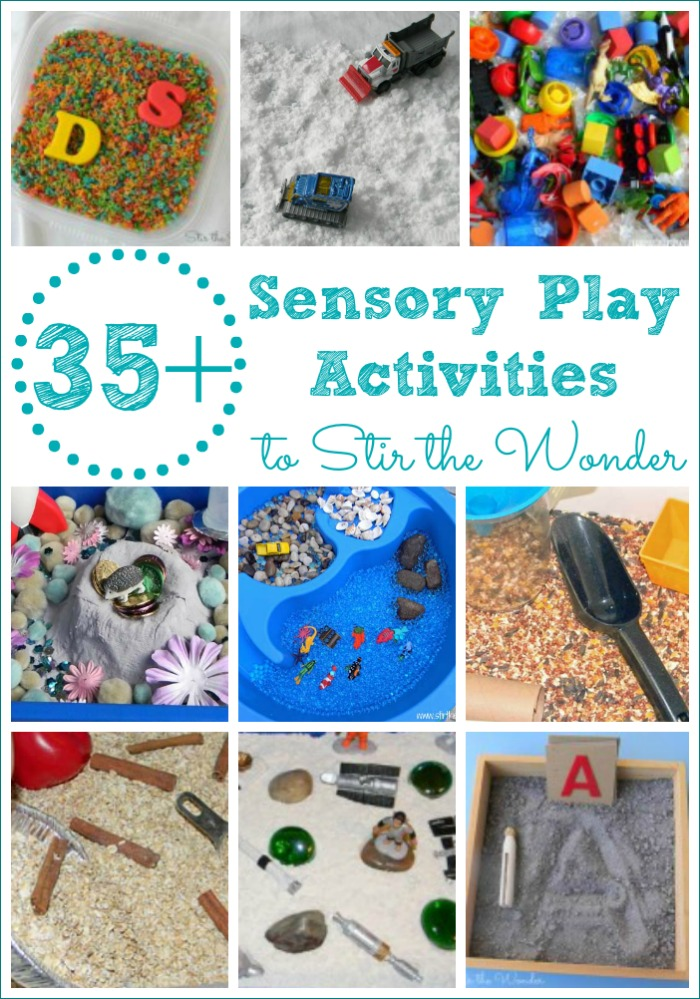 35+ Sensory Play Activities for toddlers and preschoolers!