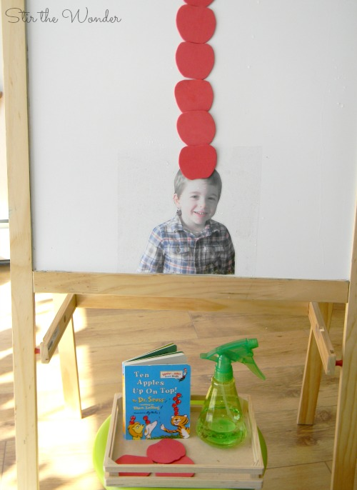 Ten Apples Up On Top Math & Fine Motor Activity for Kids