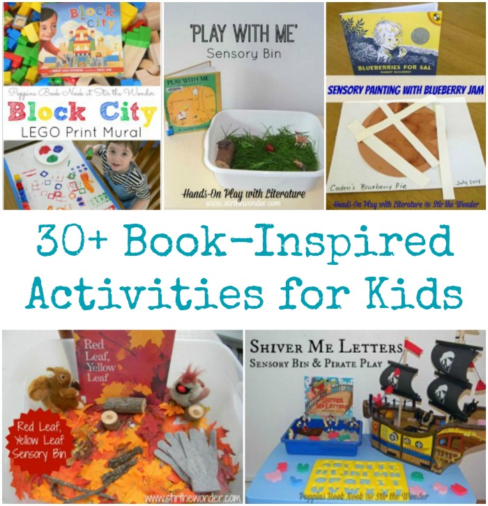 Book-Inspired Activities for Kids