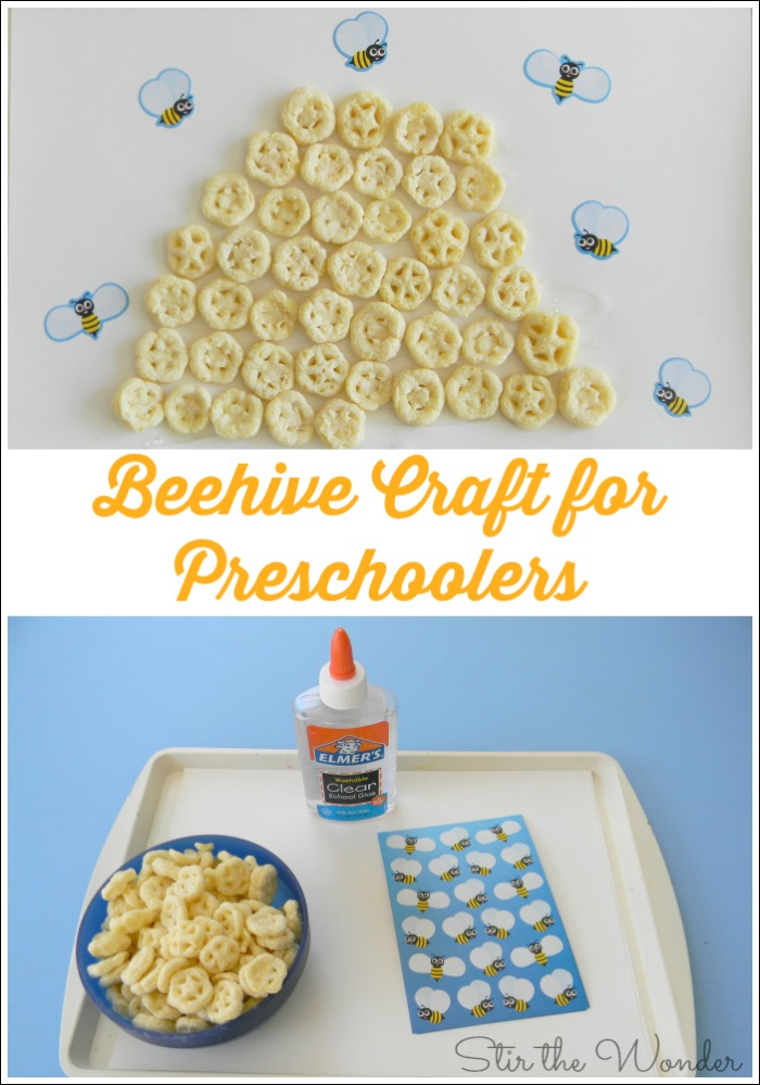 Beehive Craft for Preschoolers