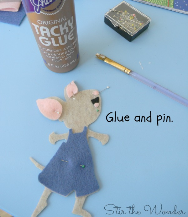 Felt Mouse Tutorial 6