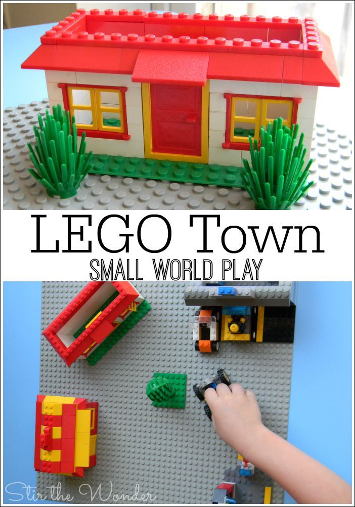 LEGO Town Small World