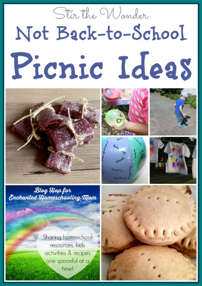 Not Back-to-School Picnic Ideas