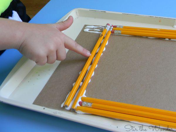 Pencil Craft Frame 2