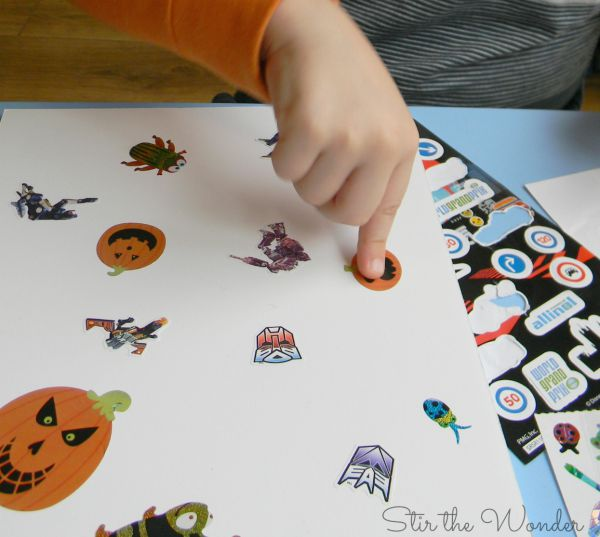 Creating a sticker collage