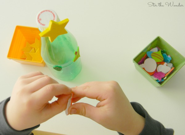 Christmas Tree Fine Motor Craft