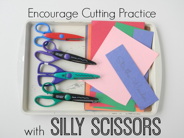 Encourage Cutting Practice with Silly Scissors