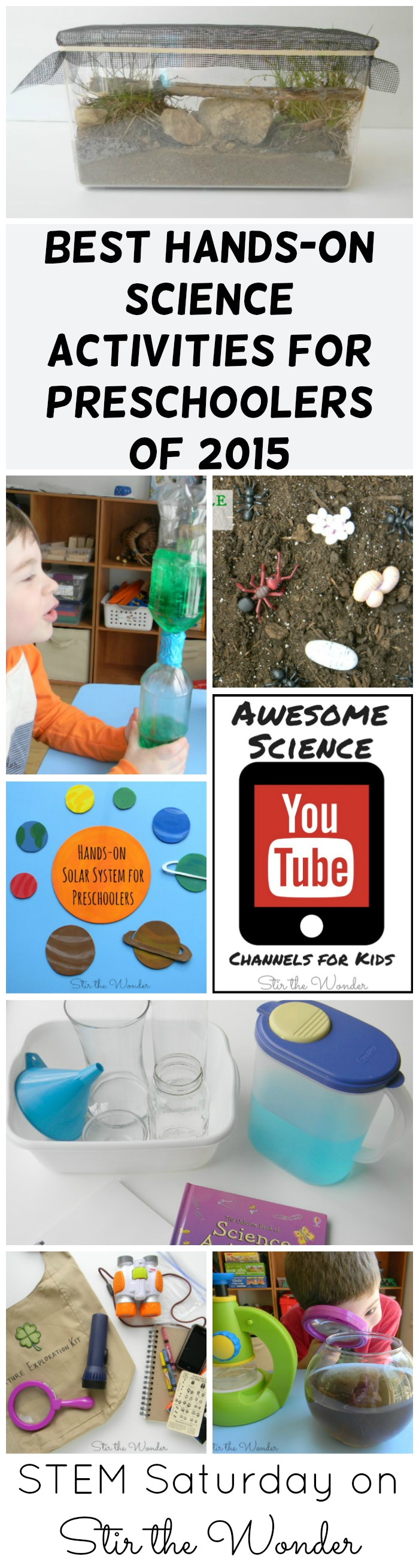 Best Hands-on Science Activities for Preschoolers from 2015