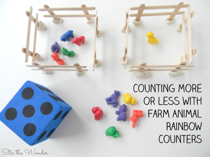 Counting and comparing More or Less