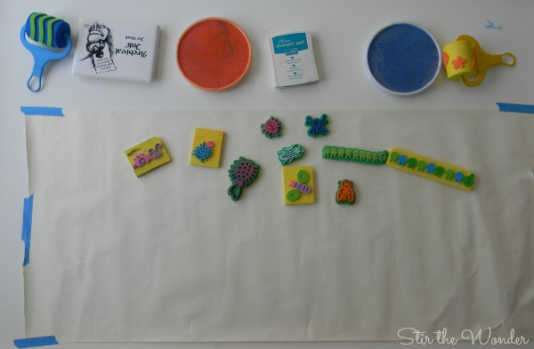 supplies for stamp art
