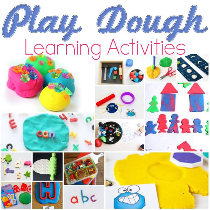 Play Dough Learning Activities