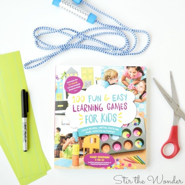 100 Fun & Easy Learning Games for Kids is a must-have resource for any household with young children!