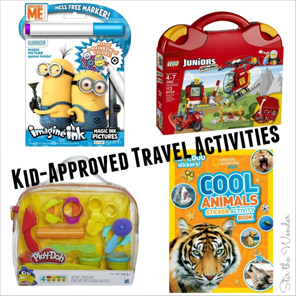 Screen-Free Kid-Approved Travel Activities