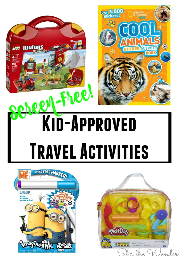 Try these Screen-Free Kid-Approved Travel Activities during your next family vacation!