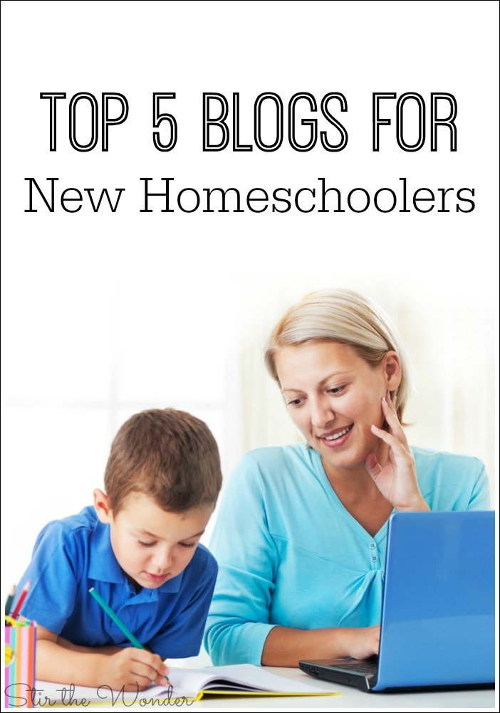 Are you a new homeschooler or know someone who is? These are my top five homeschool blogs that I recommend all new homeschoolers browse and read.