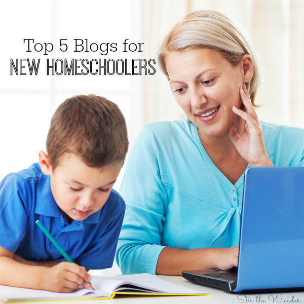 Top 5 Blogs for New Homeschoolers