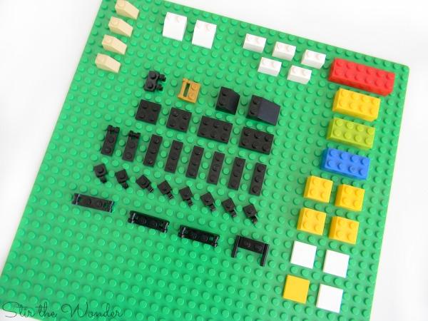 bricks needed to make LEGO Ant Life Cycle