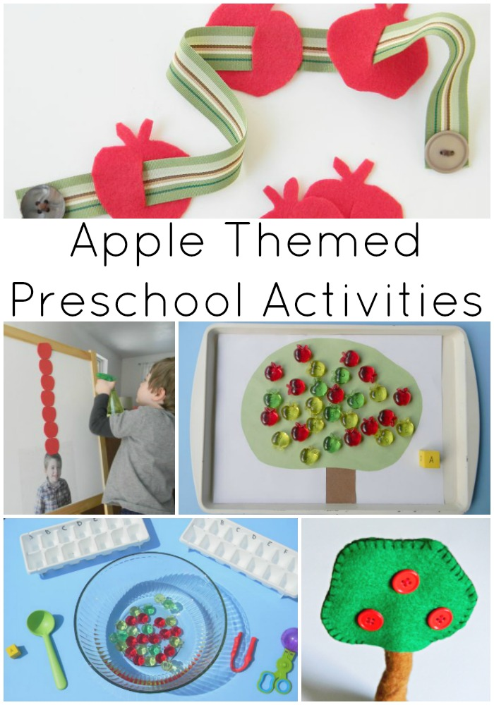 Apple Themed Preschool Activities