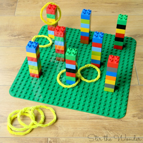 LEGO Duplo Ring Toss Game for Kids