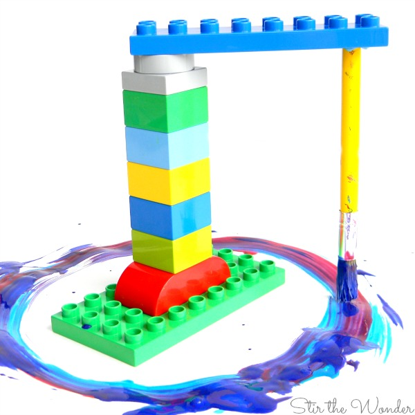 lego duplo paint machine