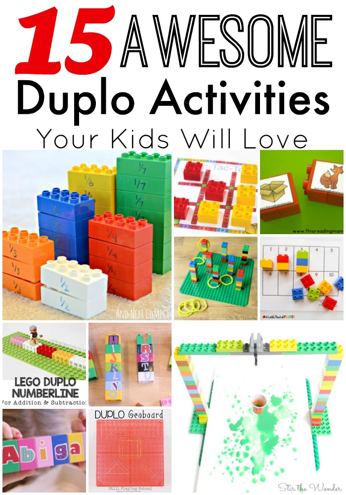 Awesome Duplo Activities your Kids will Love