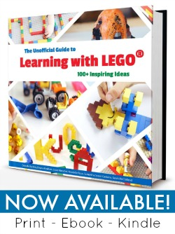 The Unofficial Guide to Learning with LEGO is now available with 100 inspiring ideas!