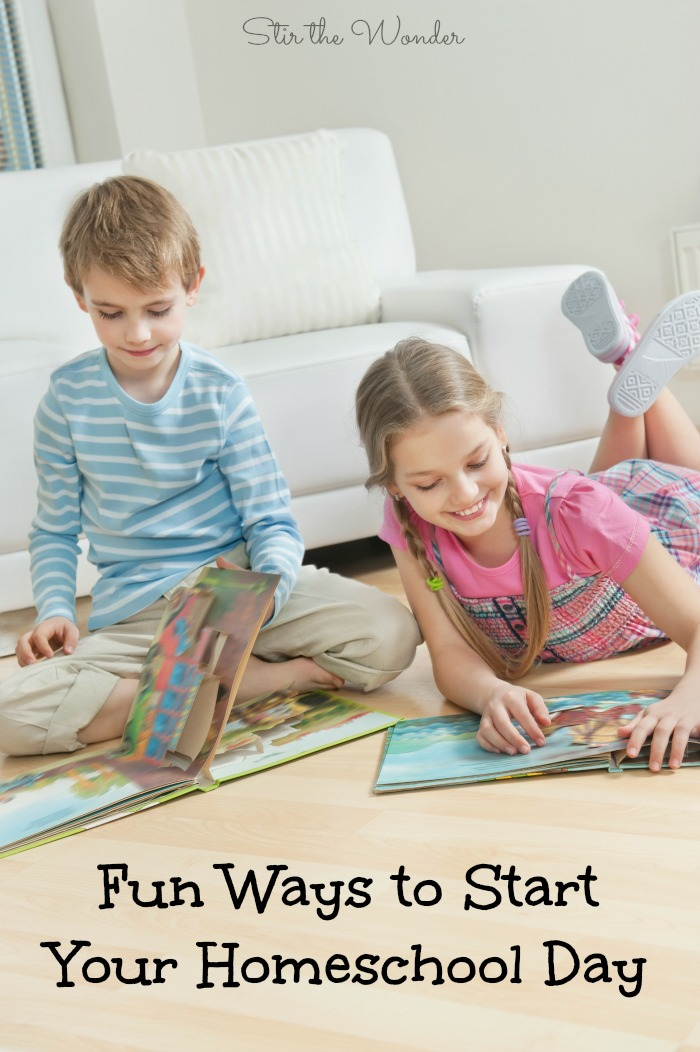 Fun Ways to Start Your Homeschool Day