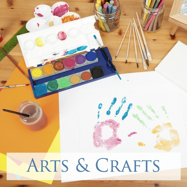 arts and crafts for toddlers, preschoolers and big kids