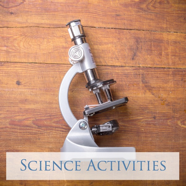 Science Activities for Toddlers, Preschoolers and Kids