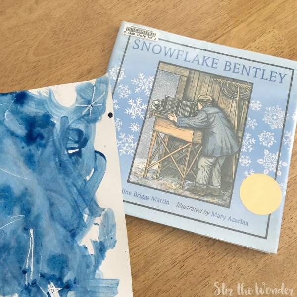 Winter Art Project Inspired By Snowflake Bentley Stir