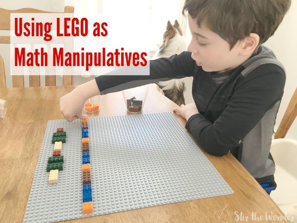 Using LEGO as Math Manipulatives