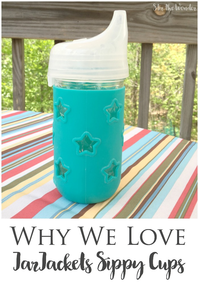 We were recently looking for non-toxic sippy cups to replace our plastic ones and found JarJackets Sippy Cups and we love them! Here is our honest review!