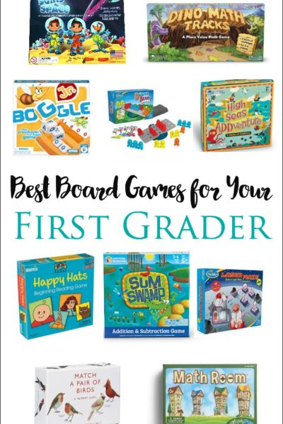 Best Board Games for Your First Grader