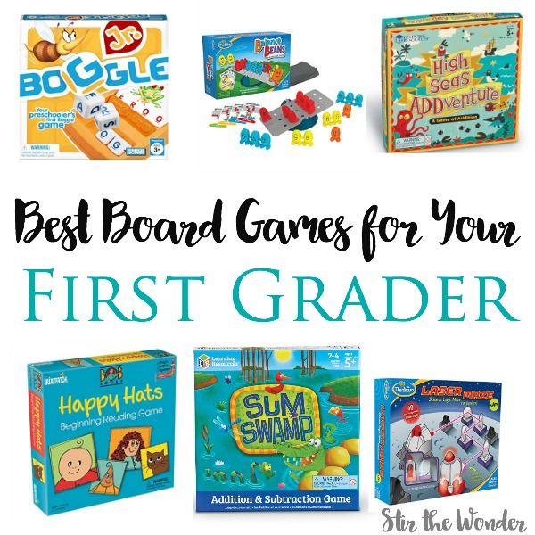 10 of the best board games to play with your first grader