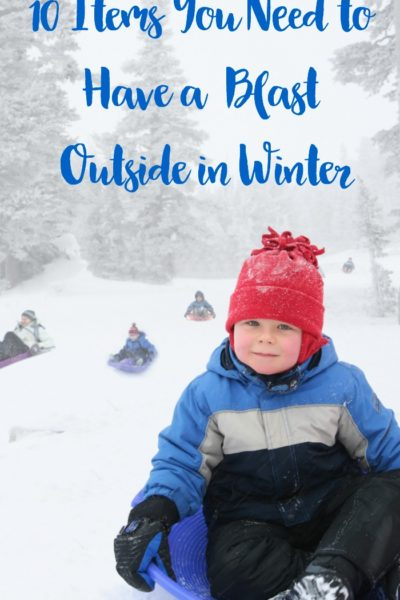 10 Items You Need to Have a Blast Outside in the Winter