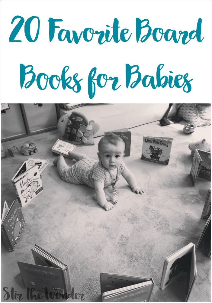These are my baby's favorite board books! Your baby will love them too!