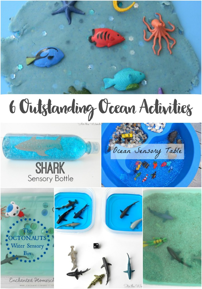 Kids will have so much fun this summer playing and learning with these 6 outstanding ocean activities!