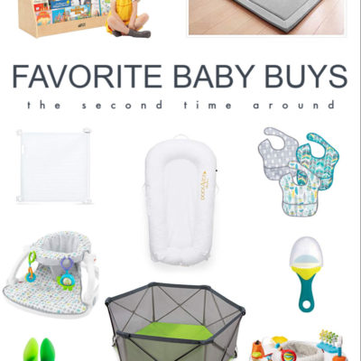 Favorite Baby Products for the Second Time Around