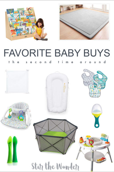 Favorite Baby Buys for the Second Time Around