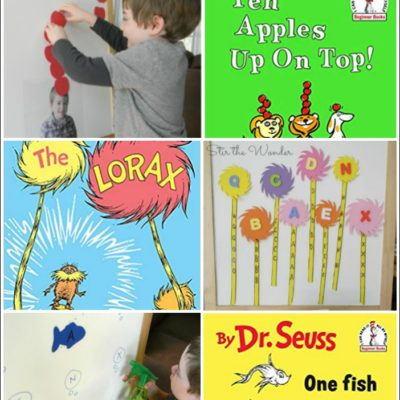 Dr. Suess Book Activities that Get Kids Moving!