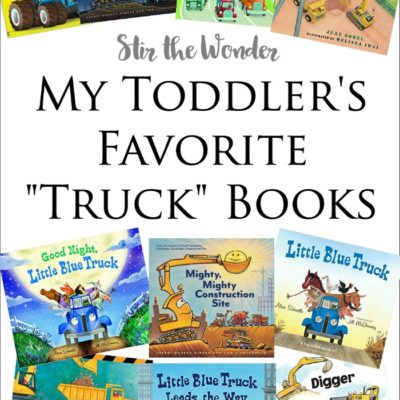My Toddler's Favorite Truck Books